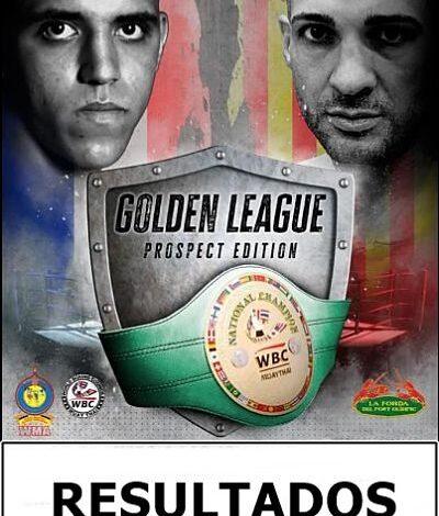 Photo of RESULTADOS GOLDEN LEAGUE : MOUCHINE CHAFI CAMPEÓN DE ESPAÑA WBC