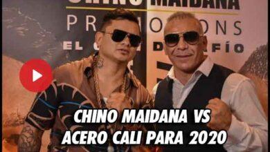 Photo of CHINO MAIDANA VS. ACERO CALI PARA 2020