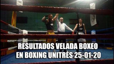 Photo of RESULTADOS VELADA BOXEO EN BOXING UNITRÉS 25-01-20