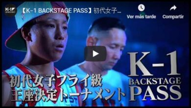 Photo of VIDEO 【K−1 BACKSTAGE PASS】