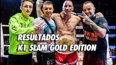 Photo of RESULTADOS K1 SLAM GOLD EDITION – 8 FEBRERO 2020