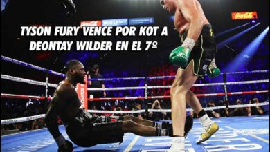 Photo of TYSON FURY VENCE POR KOT A DEONTAY WILDER EN EL 7º