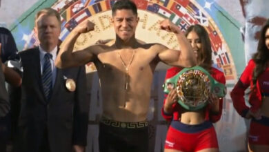 Photo of MIKE GARCÍA Y JESSIE VARGAS SUPERARON EL PESAJE
