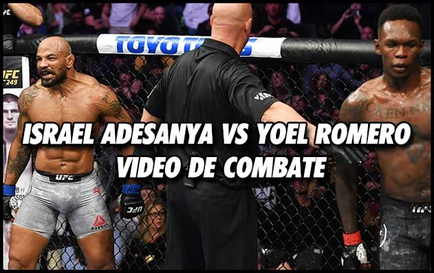 Photo of 🎥  Israel Adesanya vs Yoel Romero video de combate completo HL UFC 248