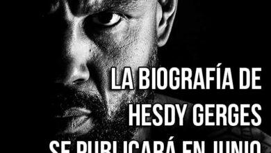 Photo of LA BIOGRAFÍA DE HESDY GERGES SE PUBLICARÁ EN JUNIO.