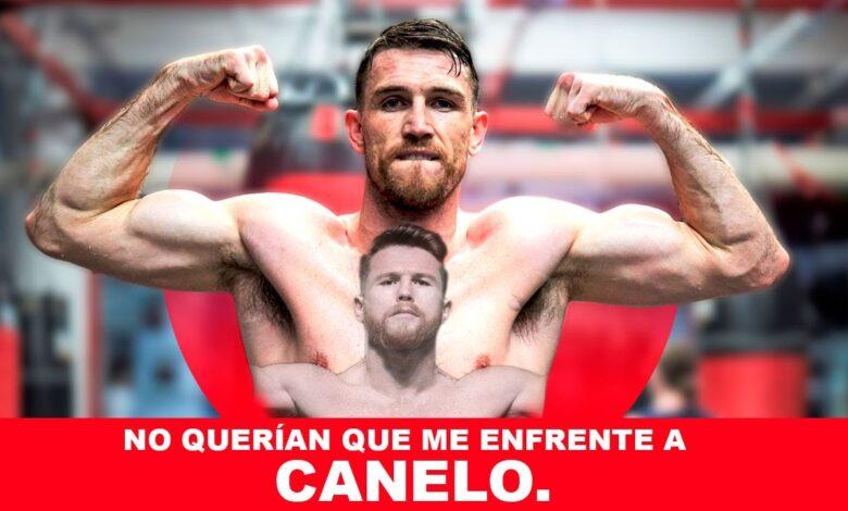 "Photo of ""Canelo Alvarez nunca quiso pelear conmigo""."