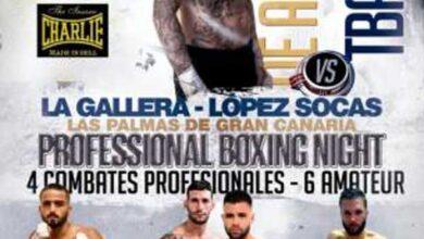 Photo of La Gallera una velada boxeo de lujo para el 21 de marzo 2020