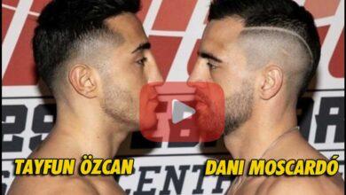 Photo of 🎥 | Vídeo Dani Moscardó vs Tayfun Ozcan- Enfusion
