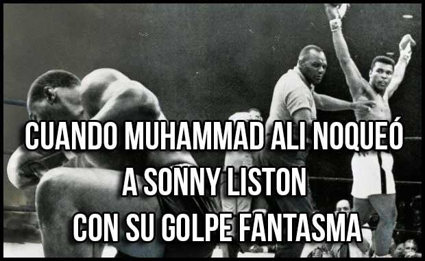 Photo of CUANDO MUHAMMAD ALI NOQUEÓ A SONNY LISTON CON SU GOLPE FANTASMA – VIDEO
