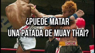 Photo of ¿PUEDE MATAR UNA PATADA DE MUAY THAI?