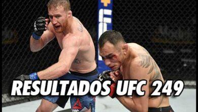 Photo of Resultados de UFC 249: Gaethje domina a Ferguson