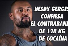 Photo of HESDY GERGES CONFIESA CONTRABANDO DE 128 KG DE COCAÍNA
