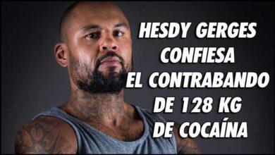 Photo of HESDY GERGES CONFIESA CONTRABANDO DE 128 KG DE COCAÍNA