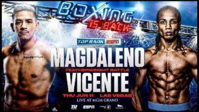 Photo of 🎥 Jessie Magdaleno vs Yenifel Vicente pelea video 2020