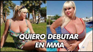 Photo of MILA KUZNETSOVA MODELO DE TALLA GRANDE QUIERE DEBUTAR EN MMA