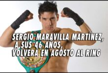 "Photo of ""Maravilla"" Martínez planea su regreso al ring en agosto"