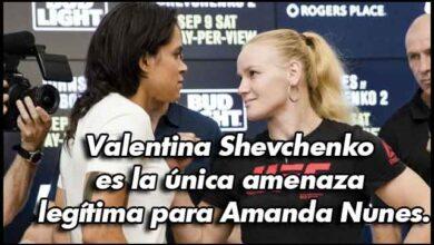 Photo of Daniel Cormier dice que la única amenaza de Amanda Nunes es Valentina Shevchenko