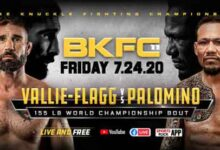 Photo of Video completo y resultados de BKFC 11: Palomino vs Vallie-Flagg