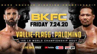 Photo of Video completo y resultados de BKFC 11: Palomino vs Vallie-Flagg