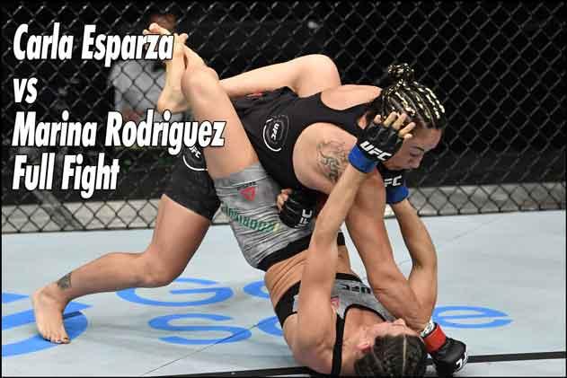 Photo of ? Carla Esparza vs Marina Rodriguez Full Fight