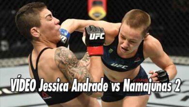 Photo of 🎥 Jessica Andrade vs Namajunas 2 video de combate completo HL UFC 251