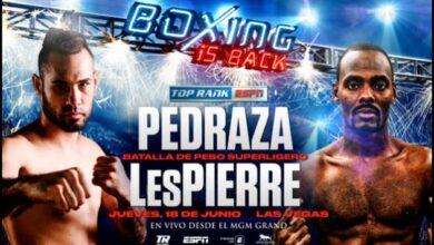 Photo of 🎥 Jose Pedraza vs Mikkel LesPierre