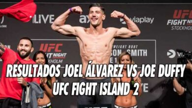Photo of RESULTADOS JOEL ÁLVAREZ VS JOE DUFFY: UFC FIGHT ISLAND 2