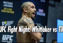 Photo of Tarjeta UFC Fight Island 3, Whittaker vs Till