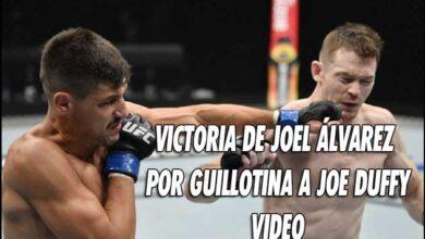 Photo of 🎥 VICTORIA DE JOEL ÁLVAREZ POR GUILLOTINA A JOE DUFFY-VÍDEO