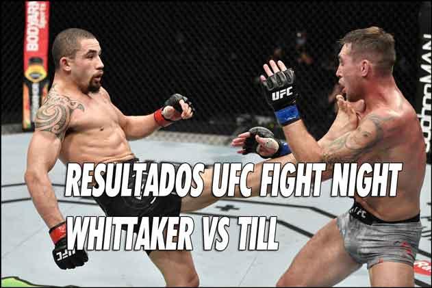 Photo of Resultados UFC Fight Night: Whittaker vs Till