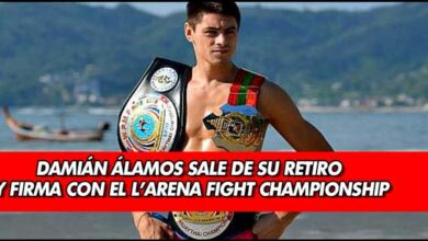 Photo of Damián Álamos sale de su retiro y firma con el L'Arena Fight Championship
