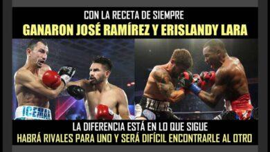 Photo of Era lo esperado: Ramirez-Postol la mejor pelea
