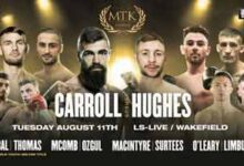 Photo of 🎥 Jono Carroll vs Maxi Hughes video completo de la pelea de 2020