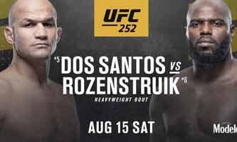 Photo of 🎥 Junior dos Santos vs Jairzinho Rozenstruik video completo de la pelea de UFC 252 HL