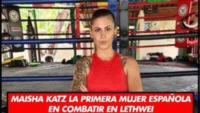 Photo of Maisha Katz La Primera Mujer Española En Combatir En Lethwei