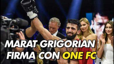 Photo of ONE Championship firma al campeón de peso ligero de Glory, Marat Grigorian.