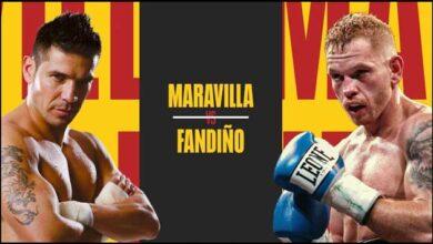 """Photo of 🎥 Sergio """"Maravilla"""" Martínez vs Jose Miguel Fandiño video completo de la pelea 2020"""