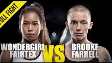 Photo of Wondergirl Fairtex gana con un conduntente espectacular knockout