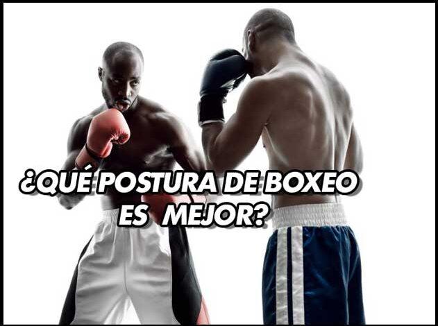 Photo of ¿Qué postura de boxeo es la mejor?