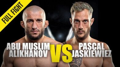 Photo of Abu Muslim Alikhanov vs. Pascal Jaskiewiez | ONE Championship Full Fight