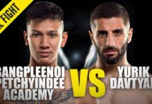 Photo of Bangpleenoi contra Yurik Davtyan | ONE Championship Full Fight