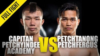 Photo of Capitán contra Petchtanong | ONE Championship Full Fight