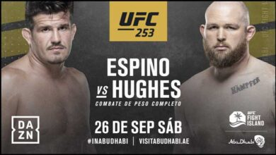 Photo of JUAN ESPINO VUELVE A UFC PARA ENFRENTARSE A JEFF HUGHES ESTE DOMINGO EN DAZN