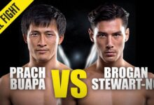 Photo of Prach Buapa contra Brogan Stewart-Ng | ONE Championship Full Fight