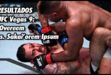 Photo of UFC Vegas 9: 'Overeem vs. Sakai' Resultados y videos destacados