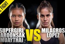 Photo of Supergirl vs. Milagros Lopez | ONE Championship Full Fight
