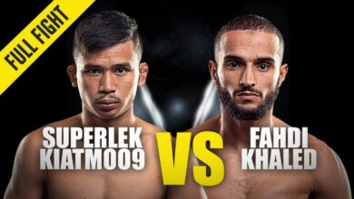 Photo of Superlek vs Fahdi Khaled | ONE Championship Full Fight