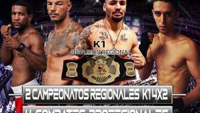 Photo of Velada de Boxeo y K1 retransmitida por Marca TV