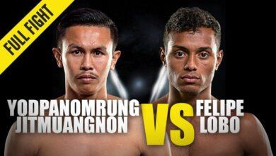 Photo of Yodpanomrung contra Felipe Lobo | ONE Championship Full Fight