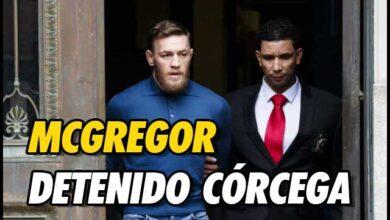 Photo of Conor McGregor, detenido en Córcega por agresión sexual